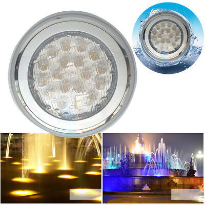 LED RGB Colors Wall-Mounted Pool Lights Underwater Swimming Pool Bright Light