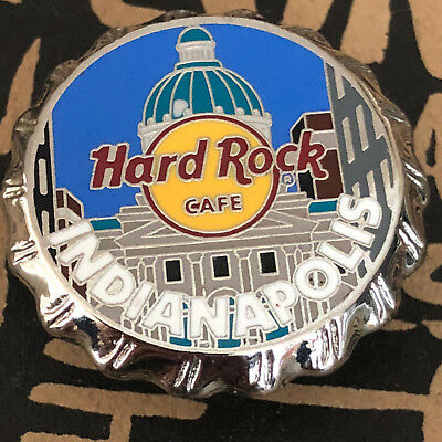 Hard Rock Cafe INDIANAPOLIS Bottle Cap Series Pin
