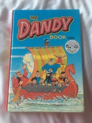 THE DANDY BOOK / ANNUAL 1988 - Excellent Condition ***unclipped***