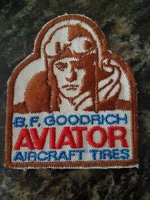 Vintage 1980's B F Goodrich Aviator Tires Patch Hard to find Deadstock
