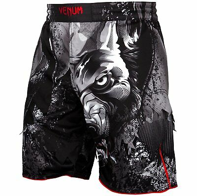 Venum Fight Shorts Werewolf black XS S M L XL 2XL MMA Muay Thai Training Fitness