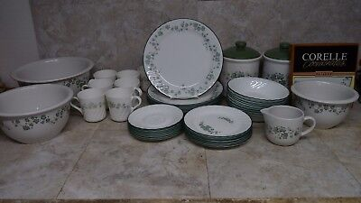 Corelle Corning Callaway Ivy Plate Cup Saucer Salad Plate Soup Bowl You Choose