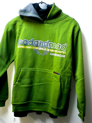 Bad+Mad, Shirt, 007, Hoodie, Boys, 128-176, 90-er Jahre, Maßangabe, Vintage