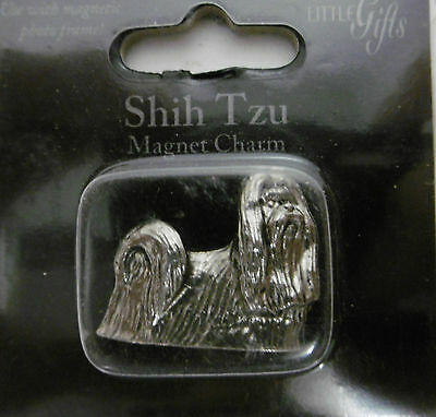 """Little Gifts """"SHIH TZU""""  Magnetic Charm Use With Magnet Photo Frame"""