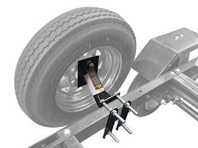 Wheel Mount Spare Tire Boat & Utility Enclosed Trailer Bracket Carrier
