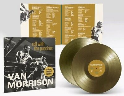 VAN MORRISON Roll With The Punches GOLD LP LIMITED EDITION VINYL OOP - RARE