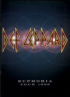 Def Leppard 1999 Euphoria Tour Concert Program Book / Near Mint 2 Mint