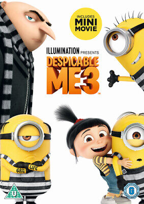 Despicable Me 3 DVD (2017) Kyle Balda cert U Incredible Value and Free Shipping!