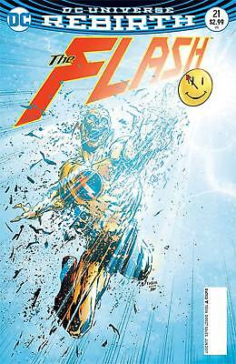 "FLASH #21 ""THE BUTTON"" PART 2 1st PRINT DOOMSDAY CLOCK DC REBIRTH"