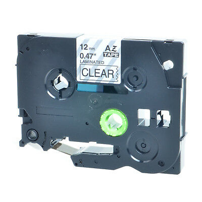 """20PK TZ TZe 131 TZ131 Black on Clear Label Tape For Brother P-Touch PT-1880 1/2"""""""