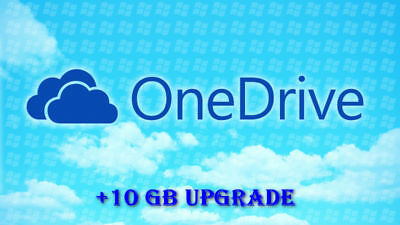Upgrade One Drive account by 10GB