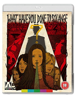 What Have You Done To Solange?  Blu-Ray NEW