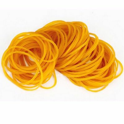400 Strong Elastic Rubber Bands Assorted Size for Home School STATIONERY Office
