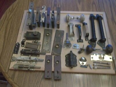 Vintage Door Hardware, Mortise Locks, Plates,handles, Latches, Cannon Ball Hinge