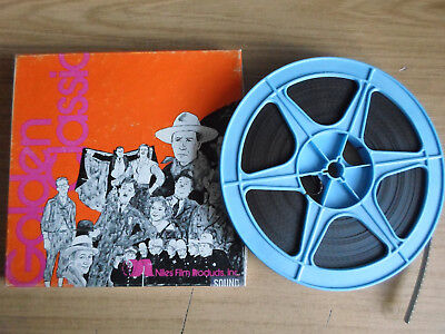 Super 8mm sound 1x400 BLUE OF THE NIGHT. Bing Crosby musical classic.