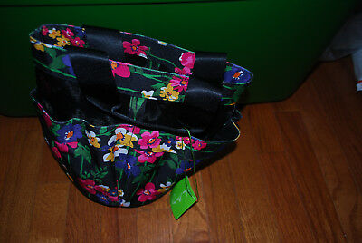 New With Tags Vera Bradley Wildflower Garden Shower Caddy