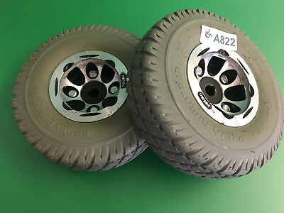 Invacare Pronto Sure Step M41 Wheels & tires  3.00-4 Solid Foam Filled   #A822