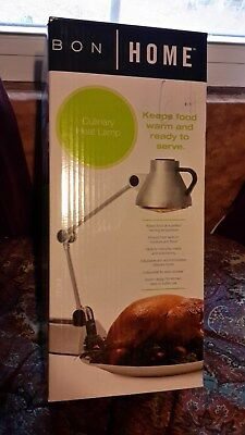New Bon Home Culinary Heat Lamp Food Warmer Hl100Sv