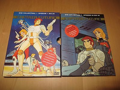 Captain Future Collection 2 DVD Episode 1 - 40, komplett guter Zust. ältere DVD