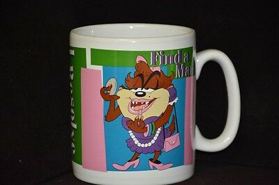 I Resolve 30 oz. JUMBO mug - exclusive to Warner Bros store -Tasmanian She-Devil