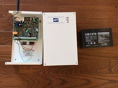 ADT Cellular Back-up, outdoor camera, and pulse gateway