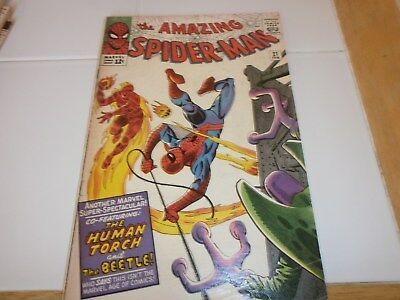 Spider Man 21, 2nd app of The Beetle