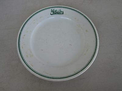 Bauscher Weiden Garmisch Recreation Area Salad Plate STAINED