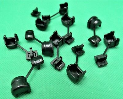 "10 pcs strain relief bushing 1/2"" Panel mount cable clamp entrance protector"