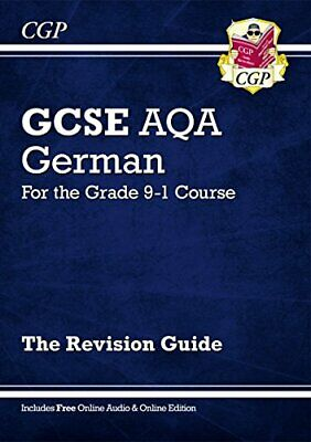 New GCSE German AQA Revision Guide - for the Grade 9-1 Course (w... by CGP Books