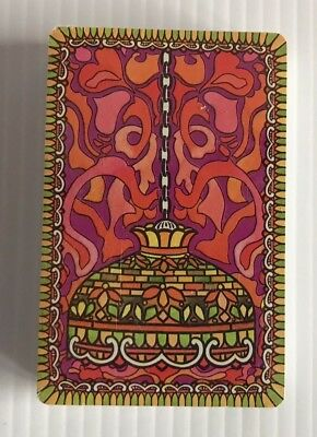 Psychedelic Stained Glass Lamp Theme Stardust Playing Cards Deck NU-VUE