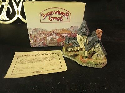 David Winter Cottages The Vicarage, 1985 In Box COA