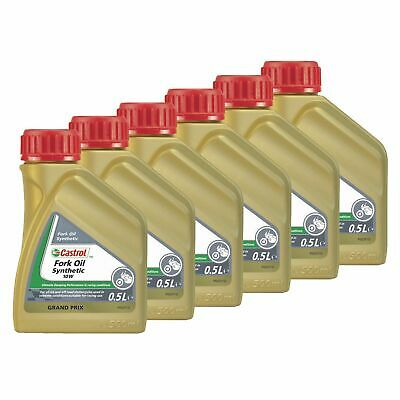 Castrol Synthetic Bike / Motorcycle Suspension / Fork Oil / Fluid 5W - 3L
