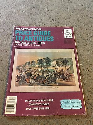 The Antique Trader Price Guide To Antiques Fall 1983 Magazine Vol. XIV No. 3