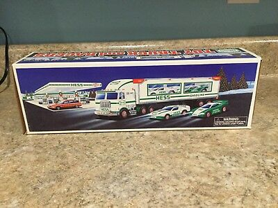 Hess Toy Truck And Racers 1997 New