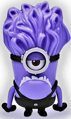 NEW! Despicable Me 2 collectible Action figure - One ! Eye Purple Minion Evil!
