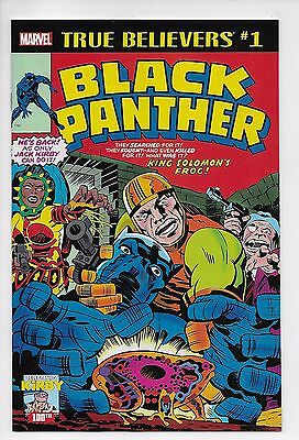 True Believers Black Panther #1 - Reprints 1977 Issue (Marvel, 2017) New (NM)