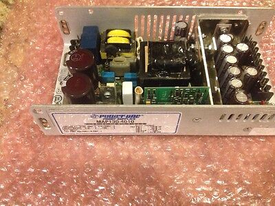Used Excellent POWER-ONE MAP130-4010 Switching Power Supply  -12/-5/+12/+5 VDC