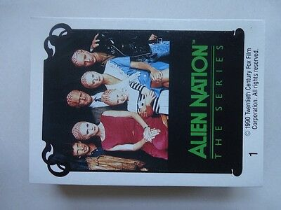 1990 Alien Nation The Series Trading Cards 46 cards (out of 60)