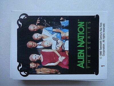 1990 Alien Nation The Series Trading Cards 37 cards (out of 60)