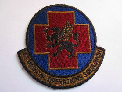 43rd Medical Operations Squadron Sleeve Patch ~ Flight Suit Removed~GERMAN MADE