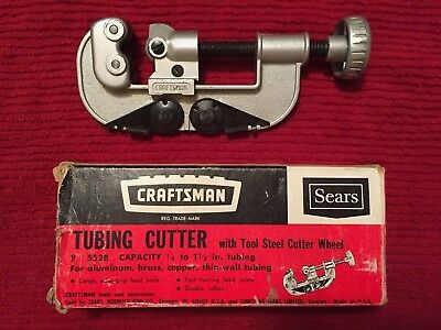 """Craftsman Tubing Cutter 9-5528 Capacity 1/4"""" to 1-1/2"""" OD"""
