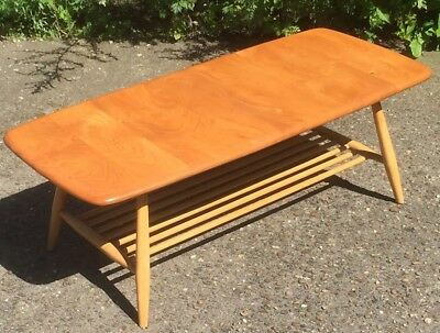 Outstanding Retro Ercol Coffee Table Virtually Mint Condition We Can Deliver