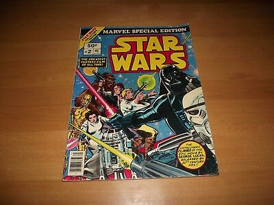 Rare Marvel Special Edition Star Wars #2 Large Comic