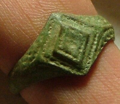 Rare original ancient Roman Byzantine soldiers ring artifact Size 12 US