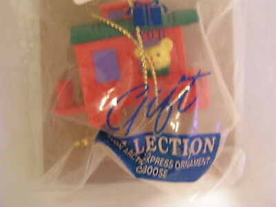 Avon 1995 Arctic Express Caboose Christmas Tree Ornament New In Package