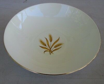 "Taylor Smith Taylor Versatile Wheat 9"" Round Vegetable Serving Bowl"