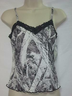 NWT Wilderness Dreams Lace Camisole Naked North Snow Camo Size 2X-Large
