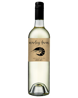 Marley Farm Adelaide Hills Pinot Gris 2017 case of 12 Dry White Wine 750ml