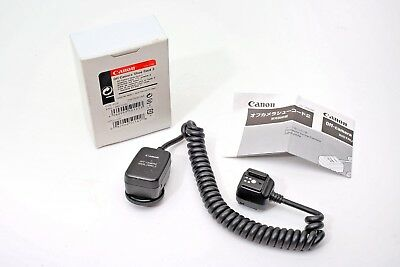 Canon off-camera Shoe Cord 2 TTL Flash Speedlite Flash cable OC-2+GENUINE++WORKS