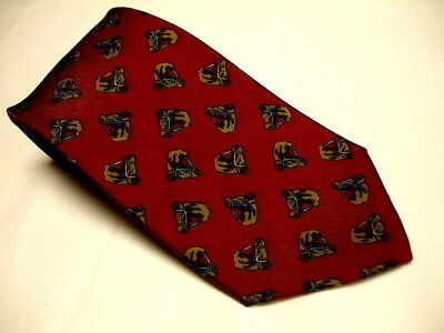 "ALYNN Neckwear ""Horsing Around"" Horse Theme 100% Silk Tie Made in USA EXCELLENT"